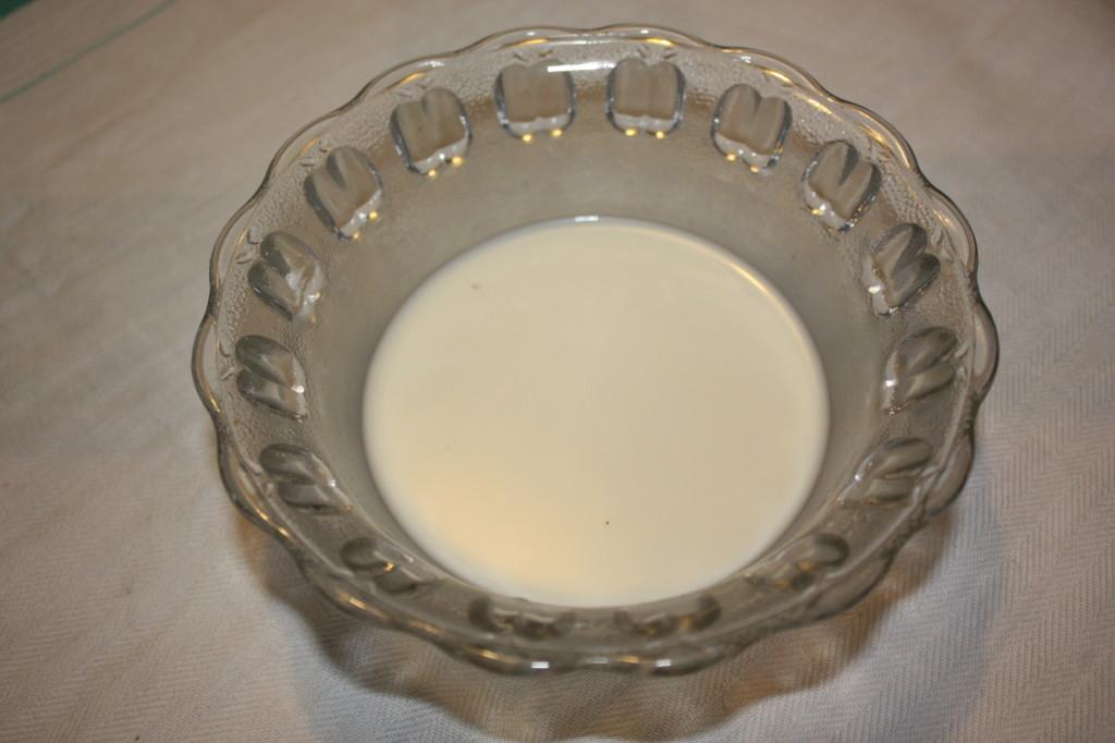 crema pasticcera vegan - stemperiamo l'amido di mais