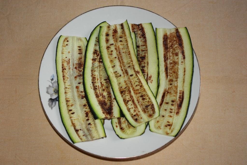involtini di zucchine e riso - zucchine grigliate