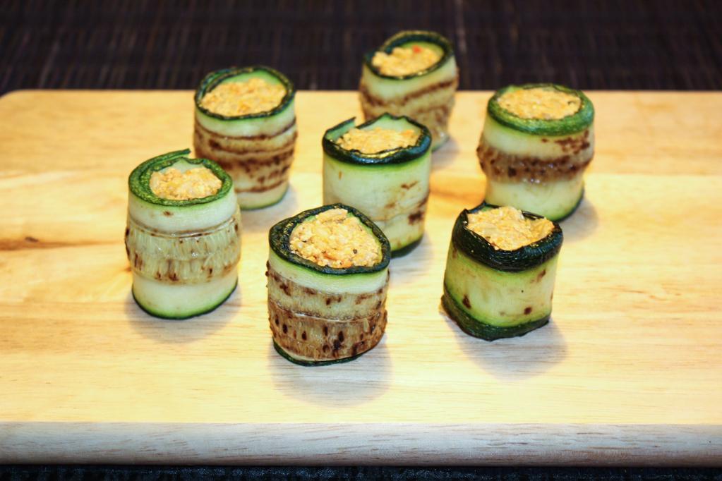 Involtini Di Zucchine E Riso – Piatto Pronto