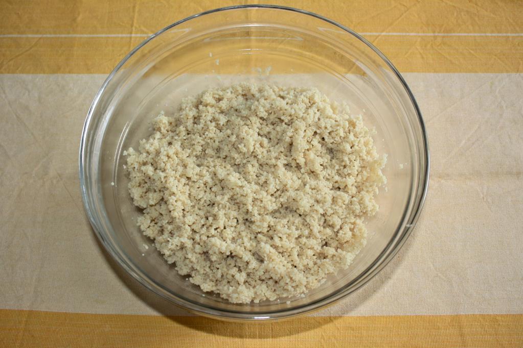 cous cous con fagiolini - come preparare il cous cous