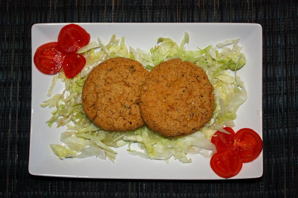 Burger Di Tofu E Ceci
