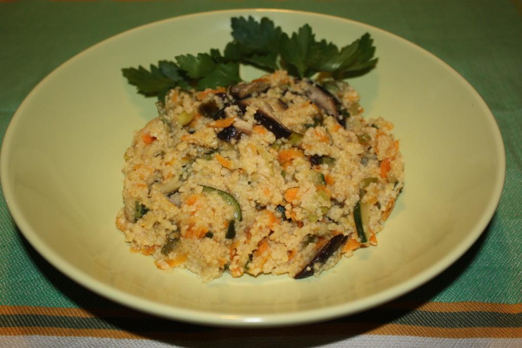 cous cous alle verdure - piatto pronto