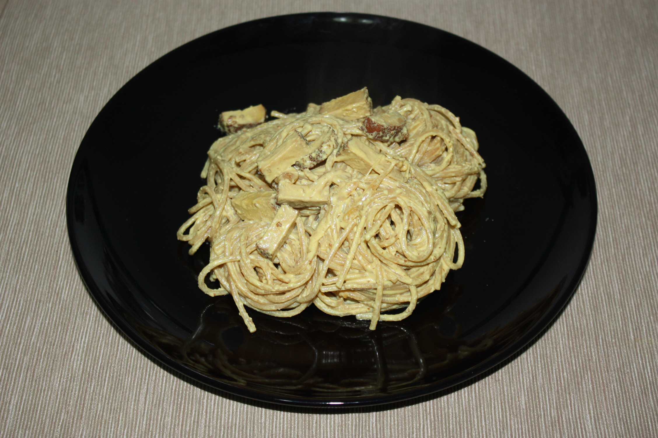 Carbonara Vegan – Piatto Pronto