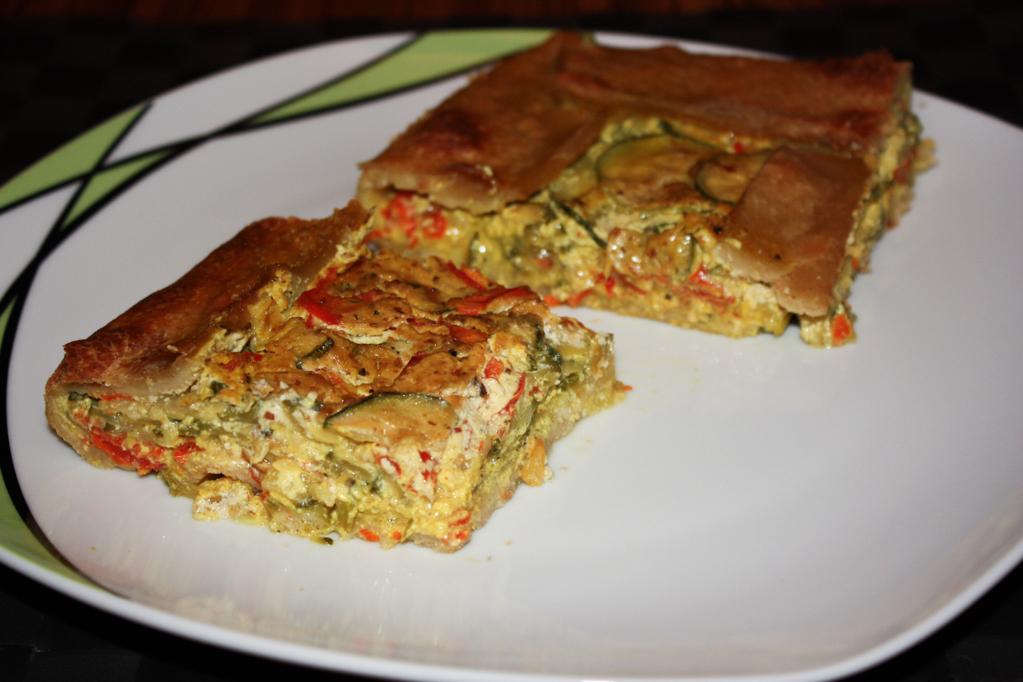 Quiche Di Zucchine E Peperoni