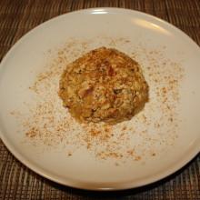 tofu strapazzato al curry - piatto finale