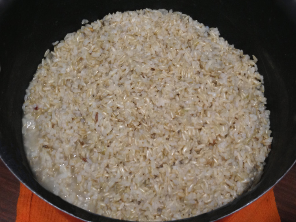 come cucinare il riso - riso bollito