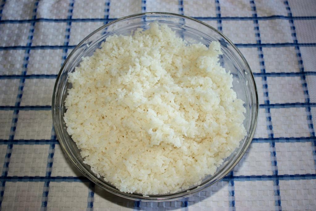 sushi - riso acidulato