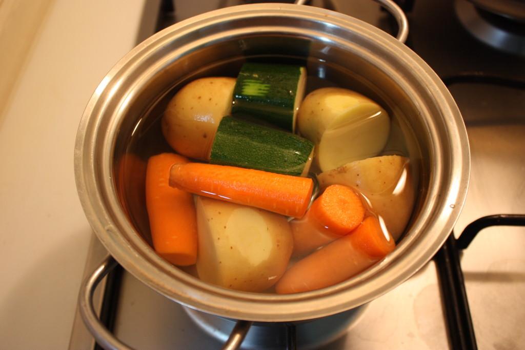 miniburger alle verdure - lessare le verdure