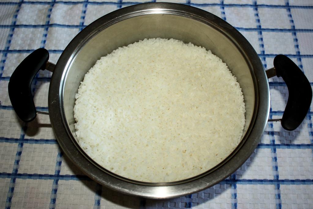 sushi - riso cotto