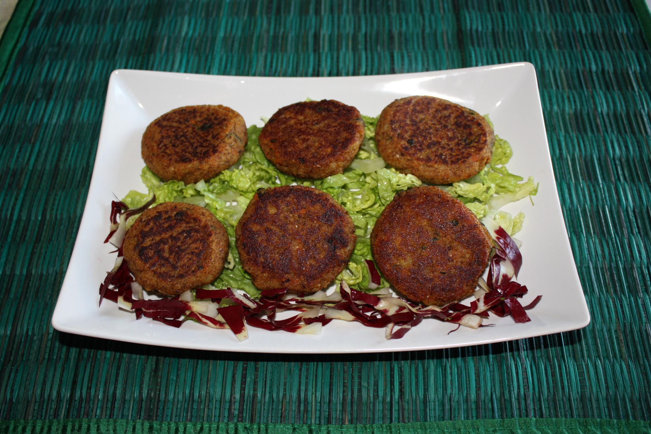 Miniburger Alle Verdure – Piatto Pronto