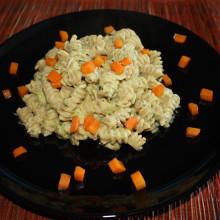 fusilli con crema di verdure - piatto pronto