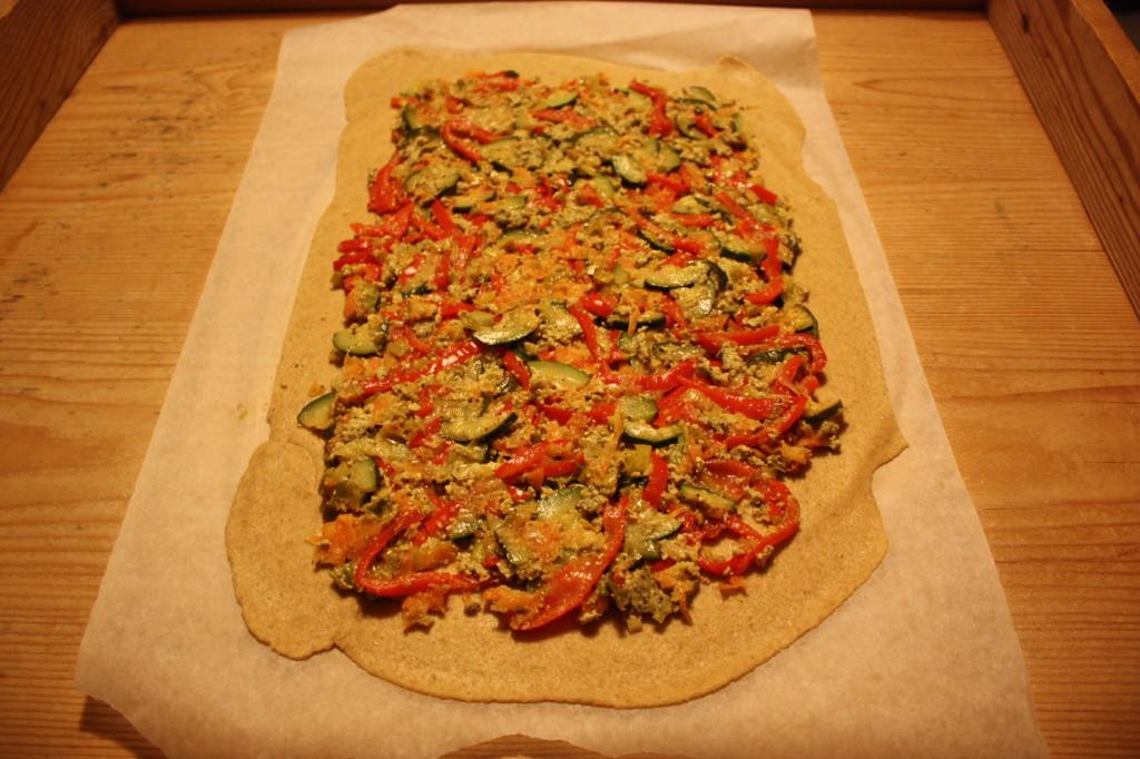 strudel di verdure - versiamo le verdure