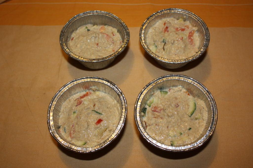 muffin salati - infornare