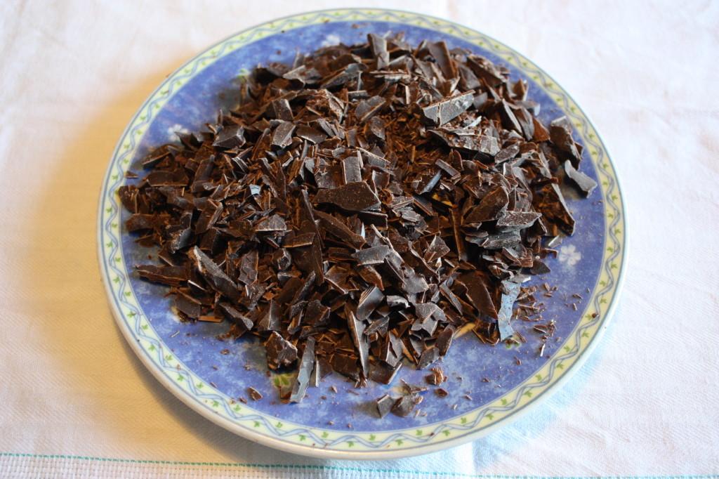 muffin vegan al cioccolato e cocco - scaglie di cioccolato