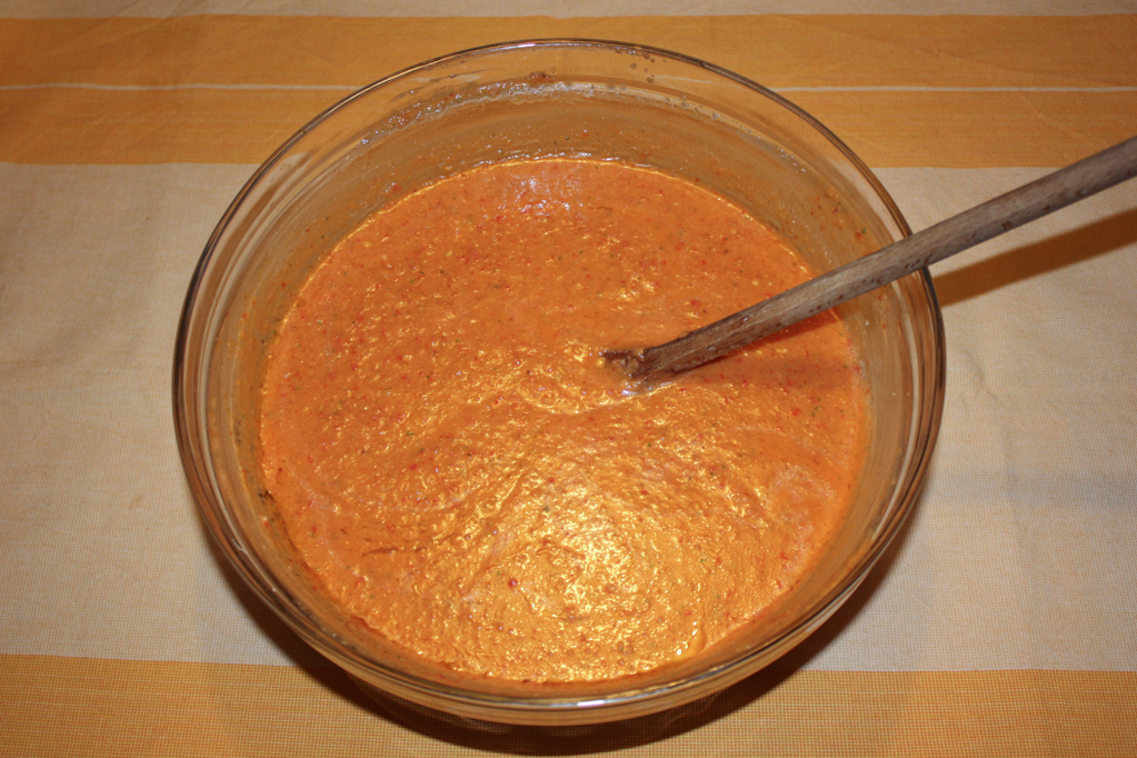 gazpacho - crema pronta