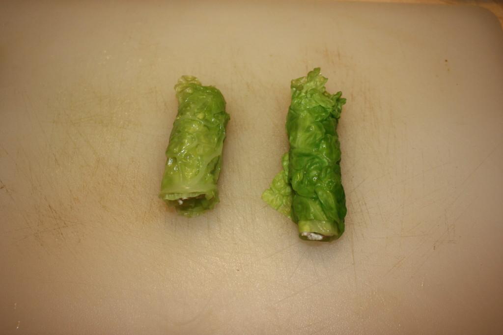 rotolini di verza ripieni - creare i rotolino