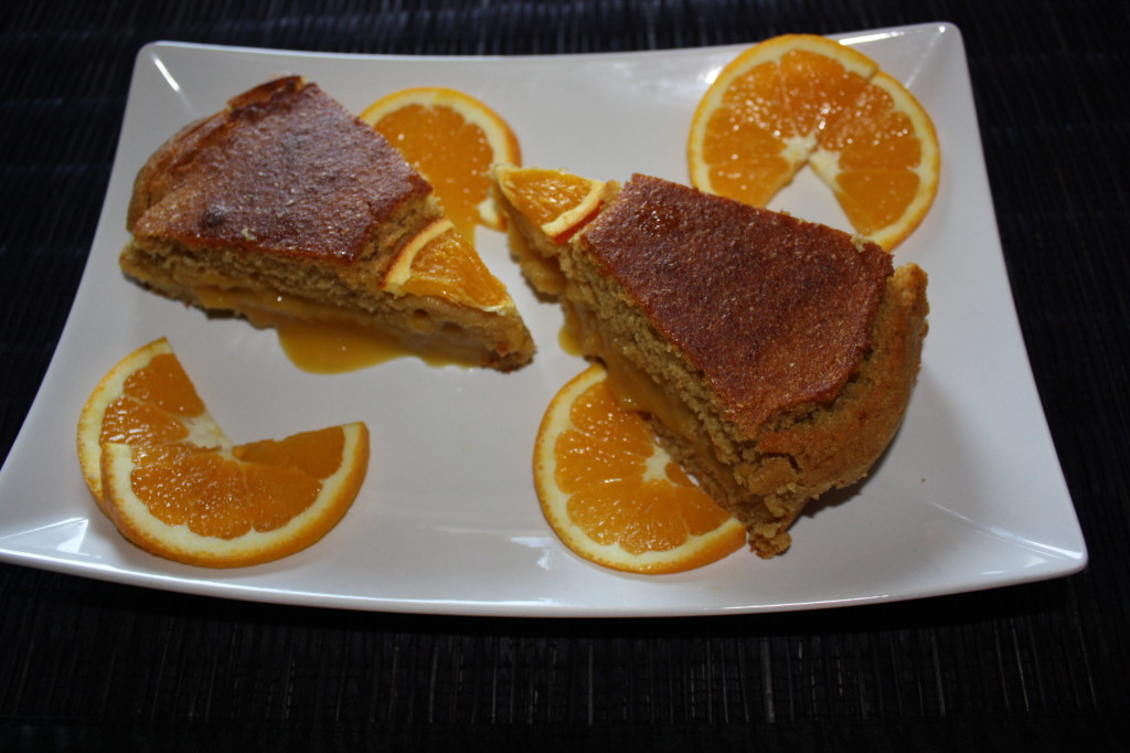 torta all'arancia - piatto pronto