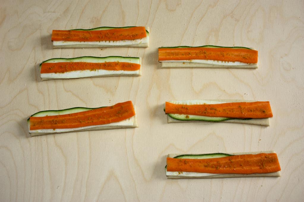 girelle alle verdure - adagiare le carote