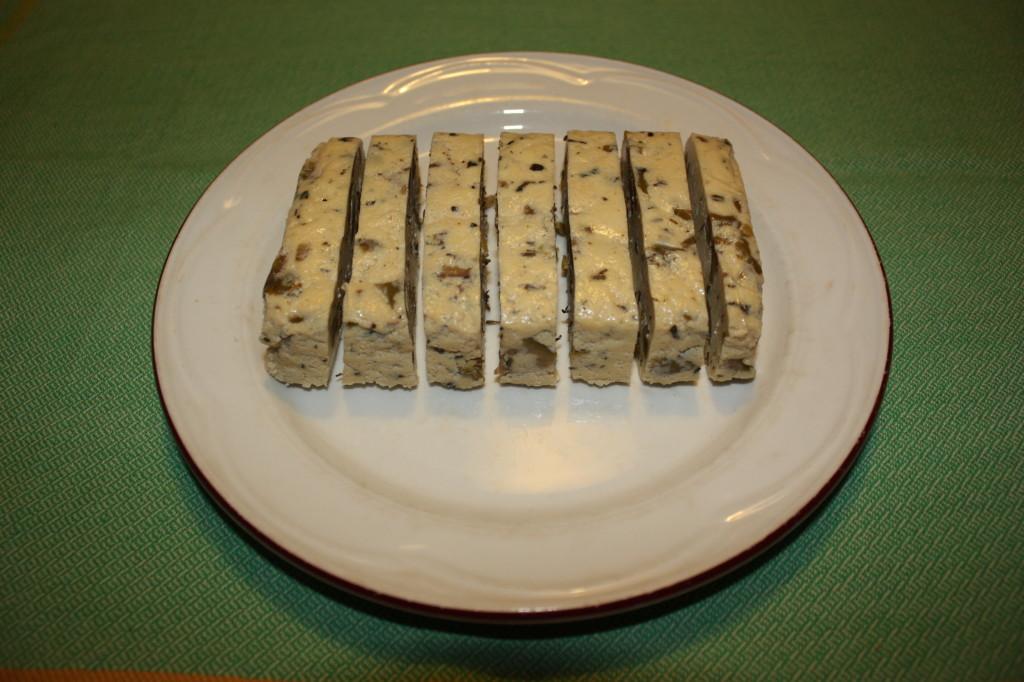 bastoncini di tofu croccanti - tagliare il tofu