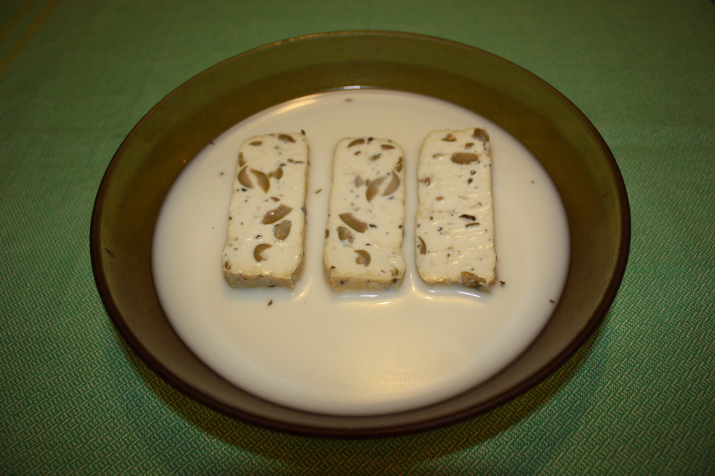 bastoncini di tofu croccanti - bagnare il tofu