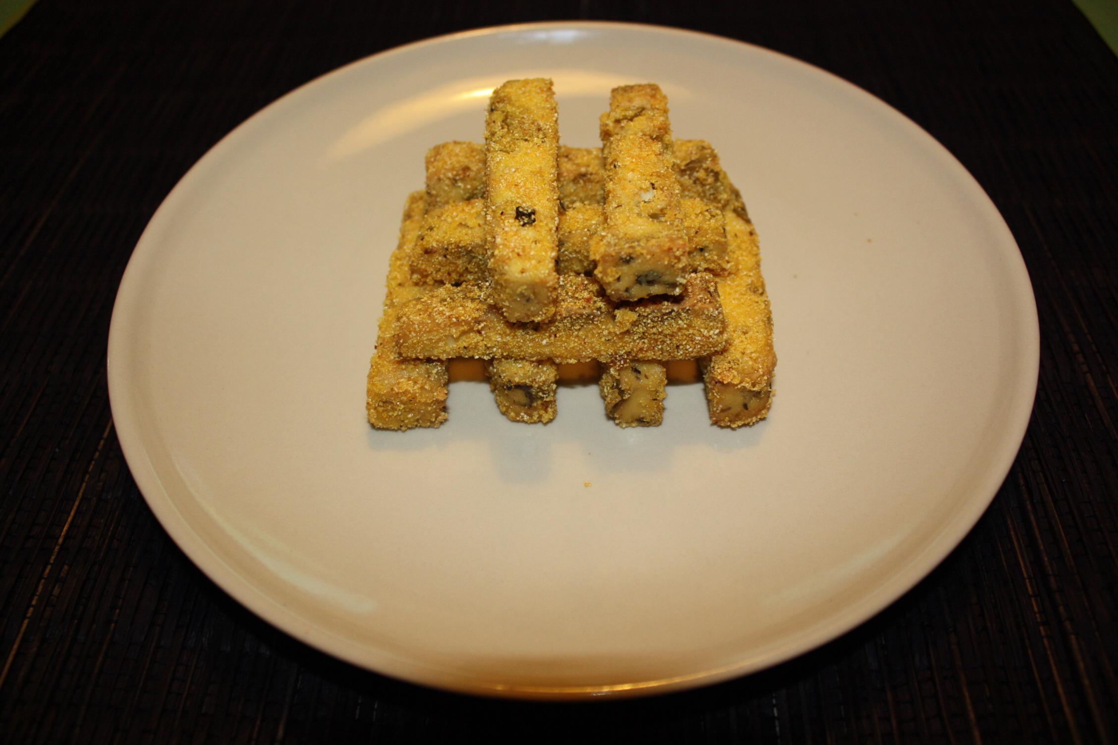 Bastoncini Di Tofu Croccanti – Piatto Pronto