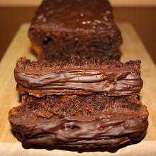 Plumcake al cioccolato e frutti di bosco