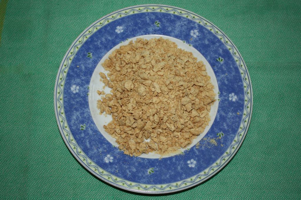 polpette di soia al sugo - bocconcini di soia