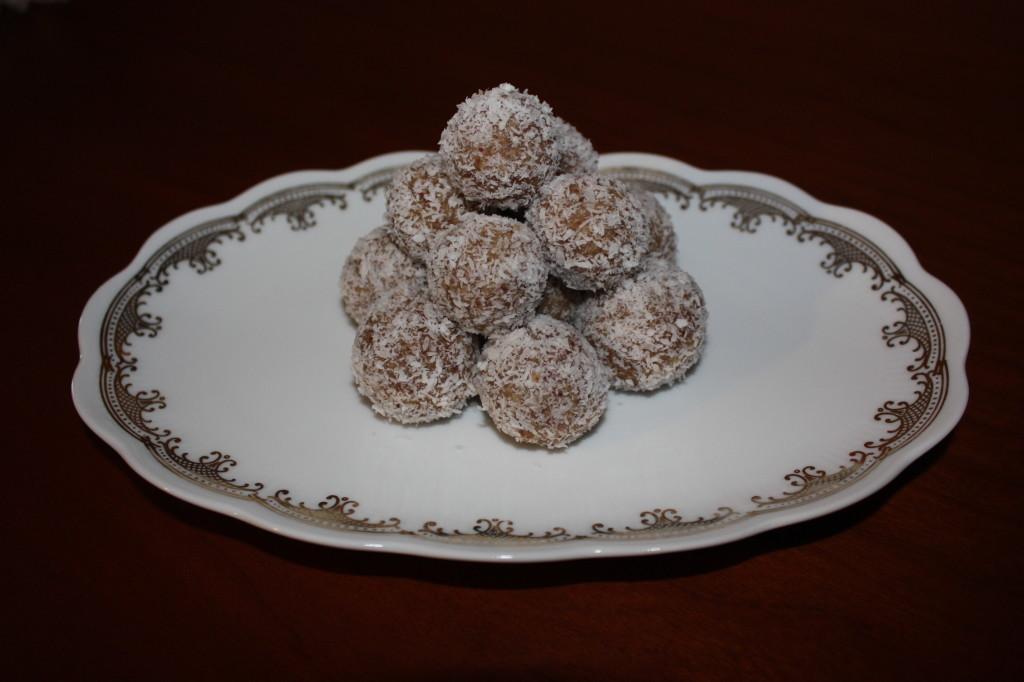 palline dolci di cous cous - piatto pronto