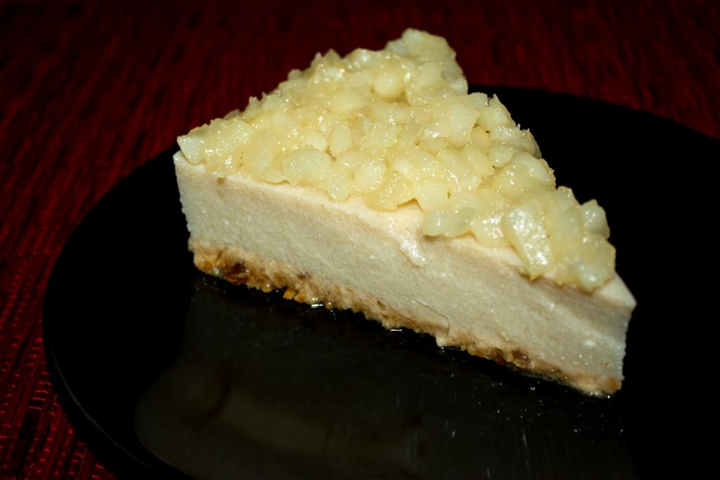 Cheesecake Di Tofu Alle Pere