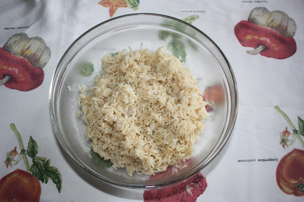 riso cantonese - preparare il riso