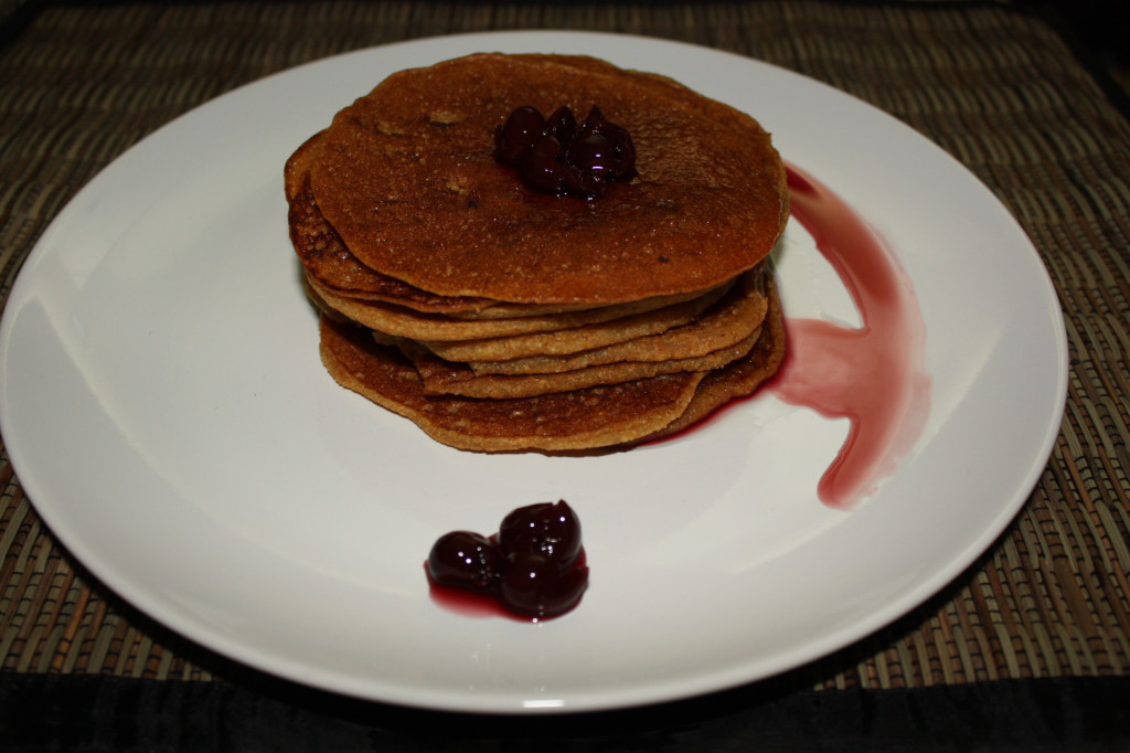 pancake vegan - piatto pronto
