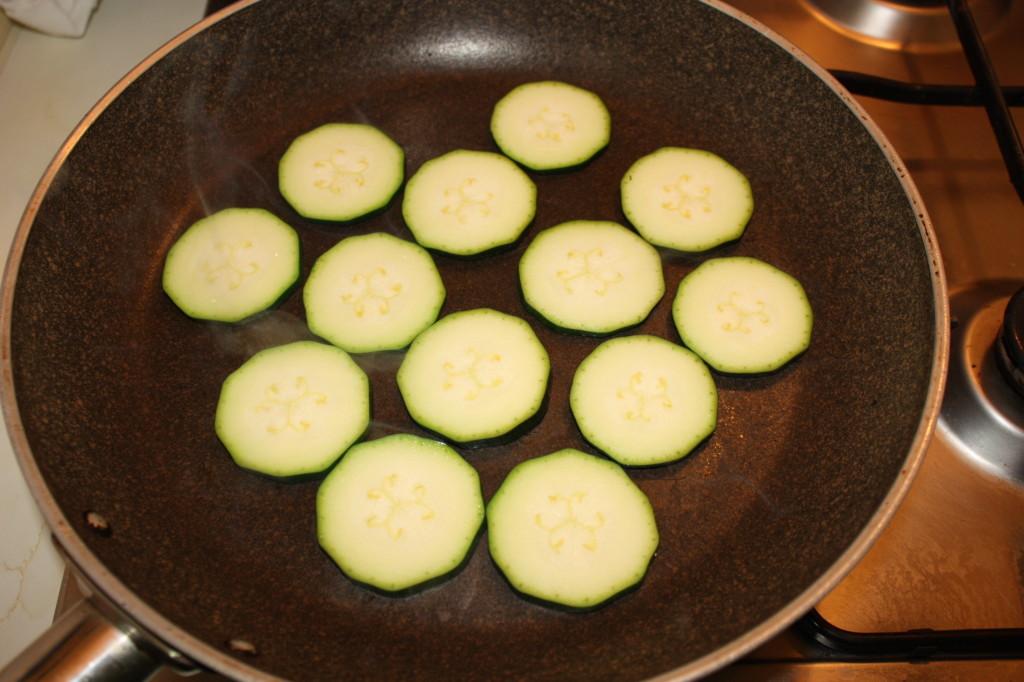cous cous con verdure grigliate - grigliare le zucchine