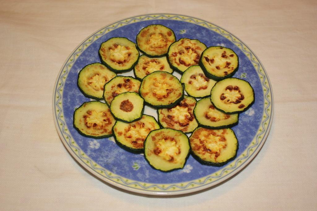 fantasia di verdure - zucchine pronte