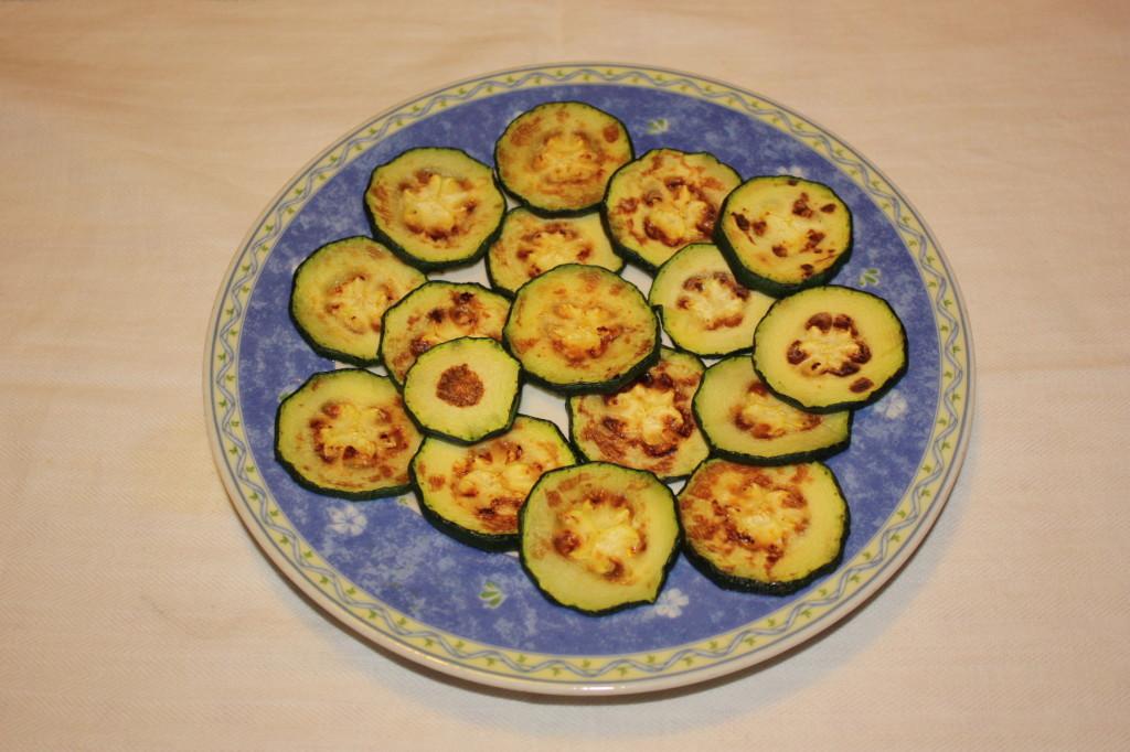 cous cous con verdure grigliate - zucchine grigliate