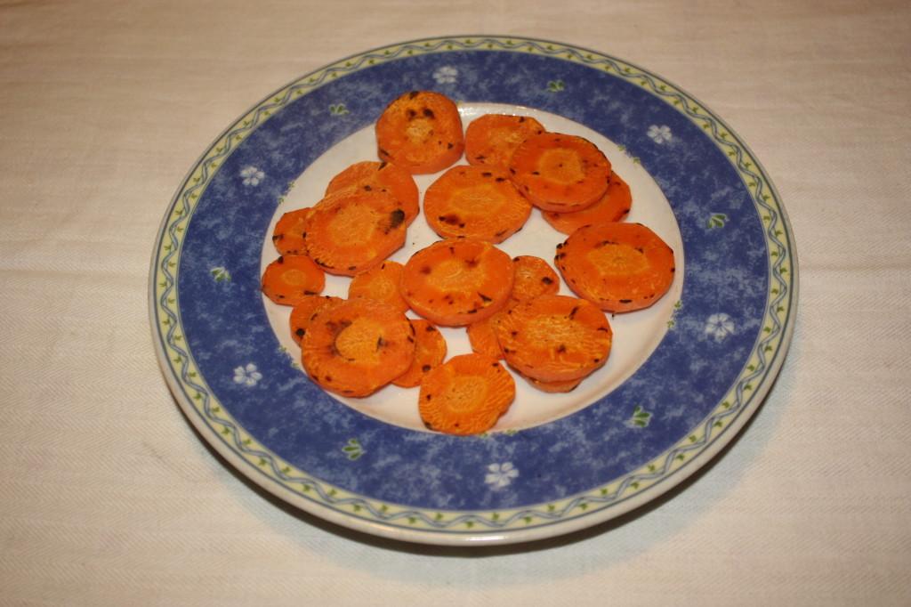 cous cous con verdure grigliate - carote pronte
