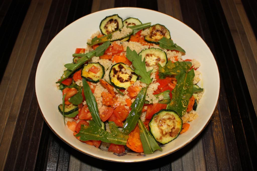 cous cous con verdure grigliate - piatto pronto