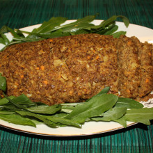 polpettone di lenticchie - piatto pronto