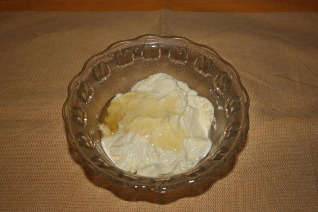 bietole con salsa agrodolce - mischiare malto e maionese