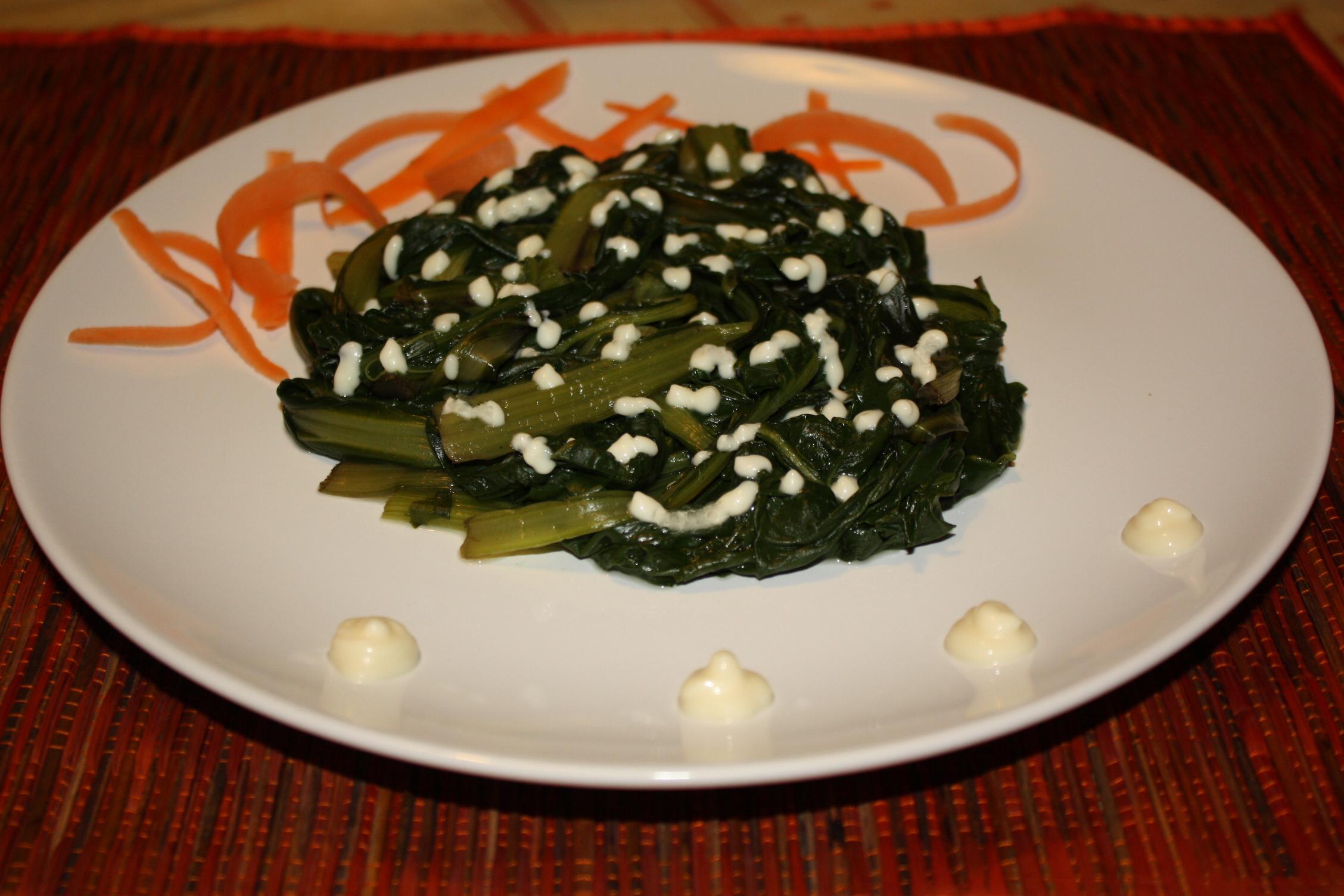 Bietole Con Salsa Agrodolce – Piatto Pronto