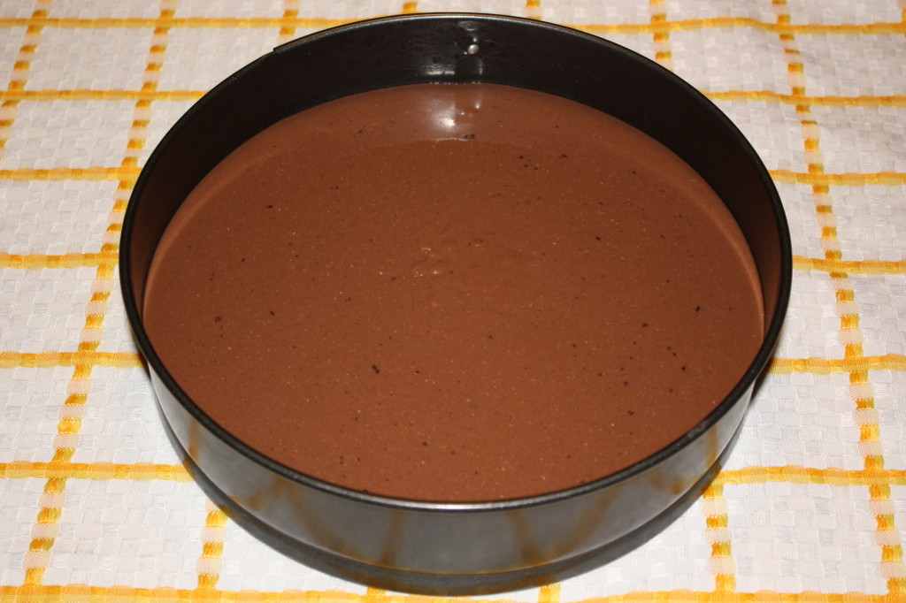 cheesecake vegan al cioccolato - torta in frigo