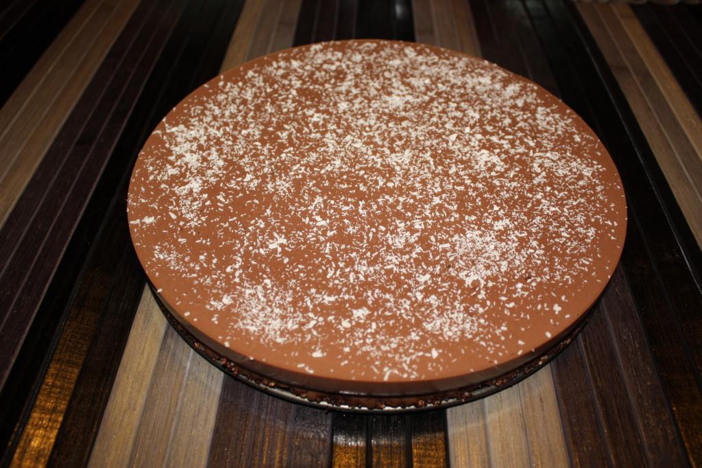 cheesecake vegan al cioccolato - torta pronto