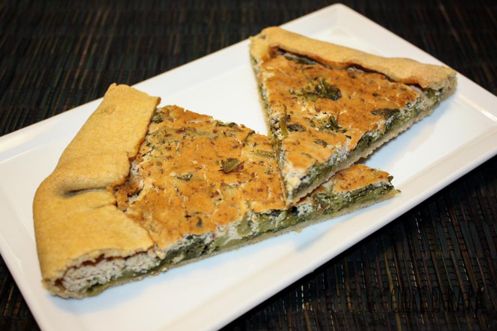 Torta Salata Alle Cime Di Rapa