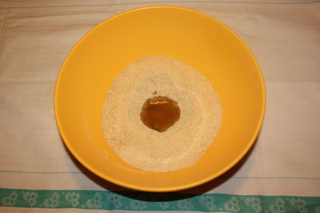 crostata di verdure - preparare la farina