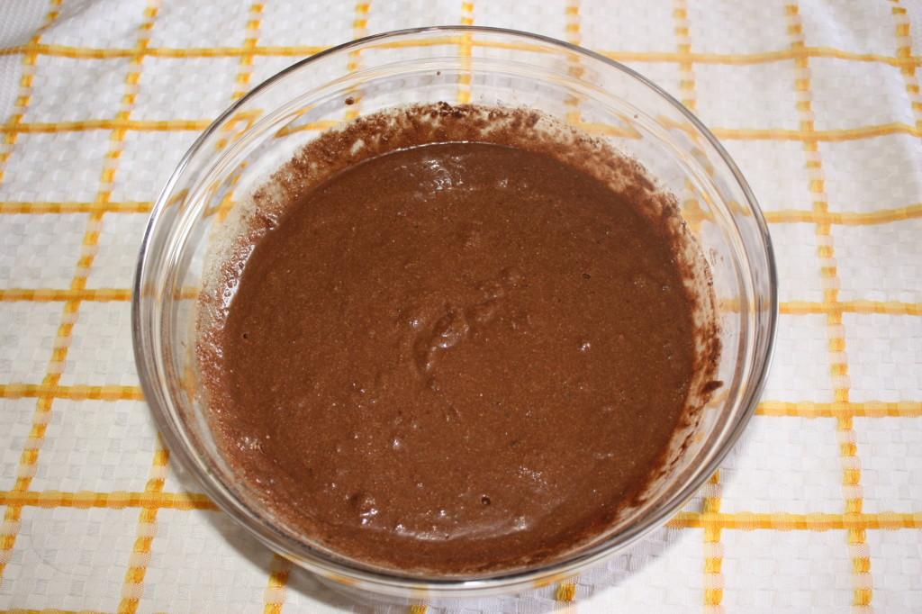 cupcakes al cioccolato - pastella finale