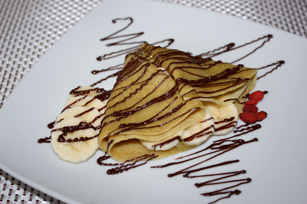 Crepes Alla Banana