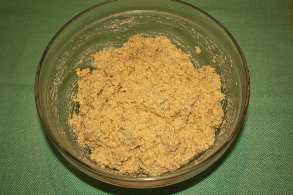 crocchette di miglio - unire tutti gli ingredienti