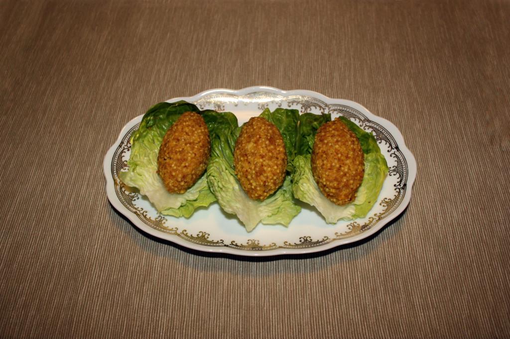 crocchette di miglio - piatto pronto