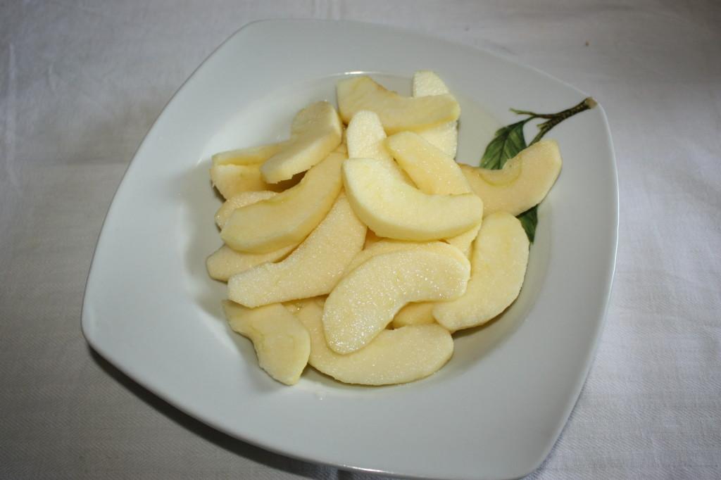 tortini di mela - mele a fette