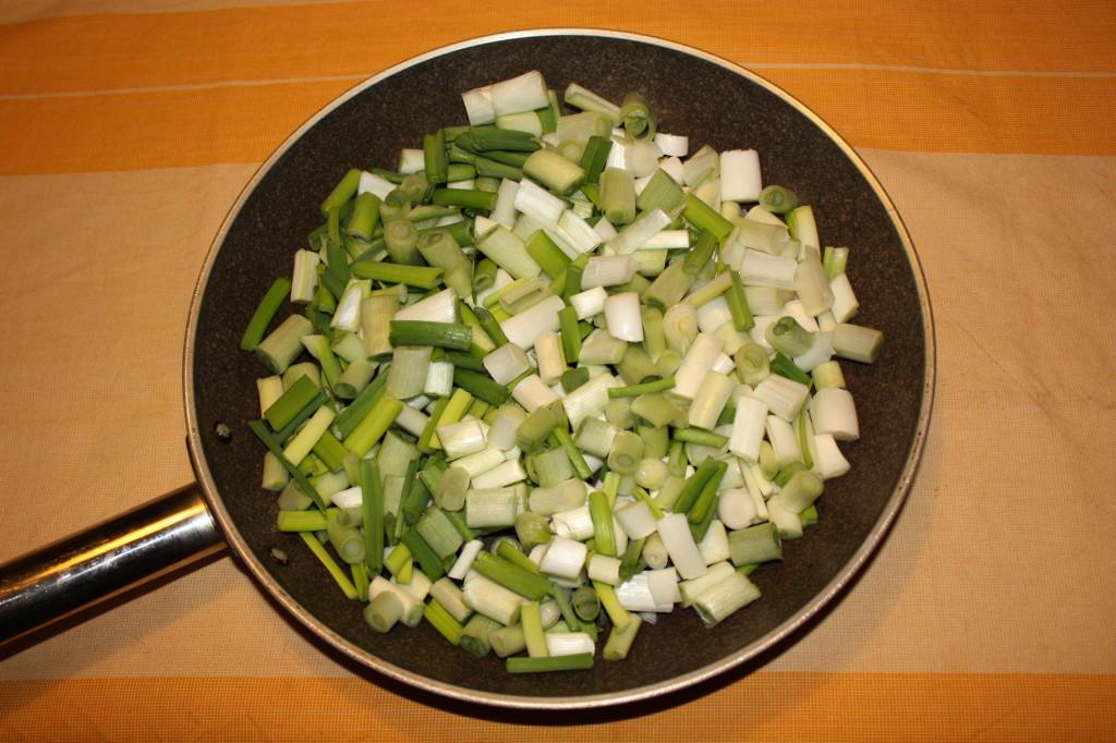tofu grigliato con crema di sponsali - tagliare gli sponsali