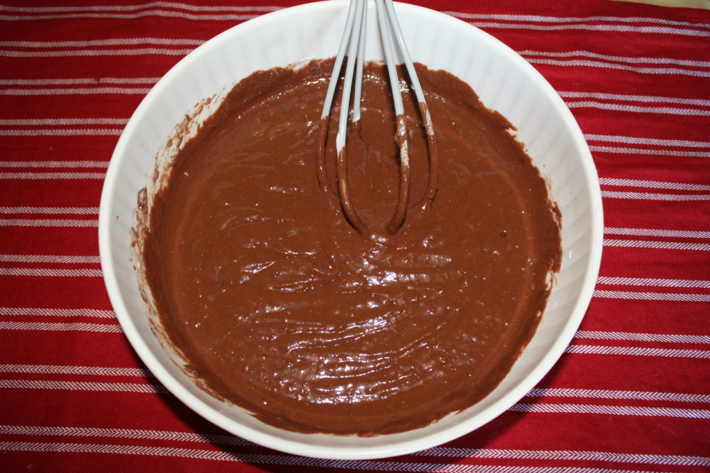 mousse al cioccolato e cocco - mousse pronta